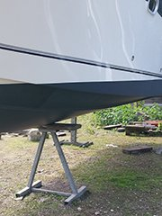 Boot poetsen door Yacht Cleaning International